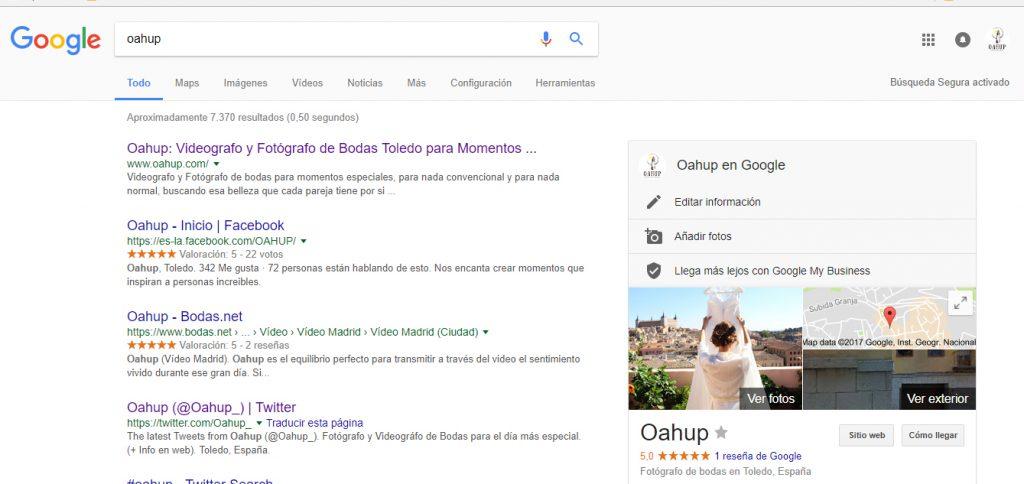 Redes Sociales Google